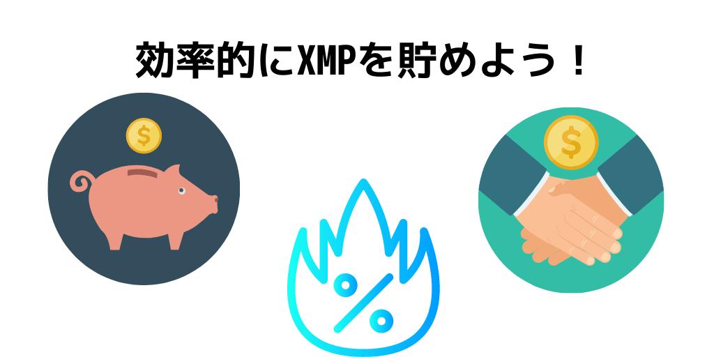 XMPの効果的な貯め方