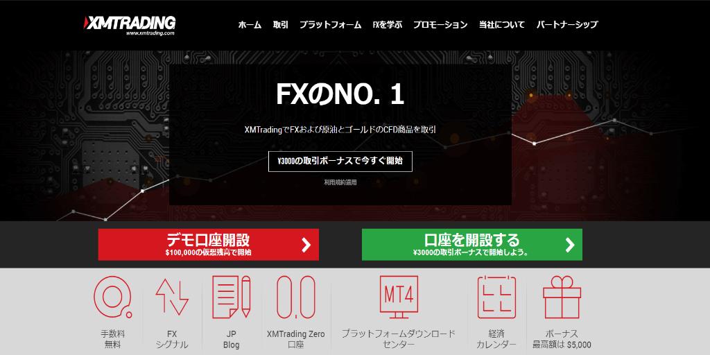 XM ゼロ口座