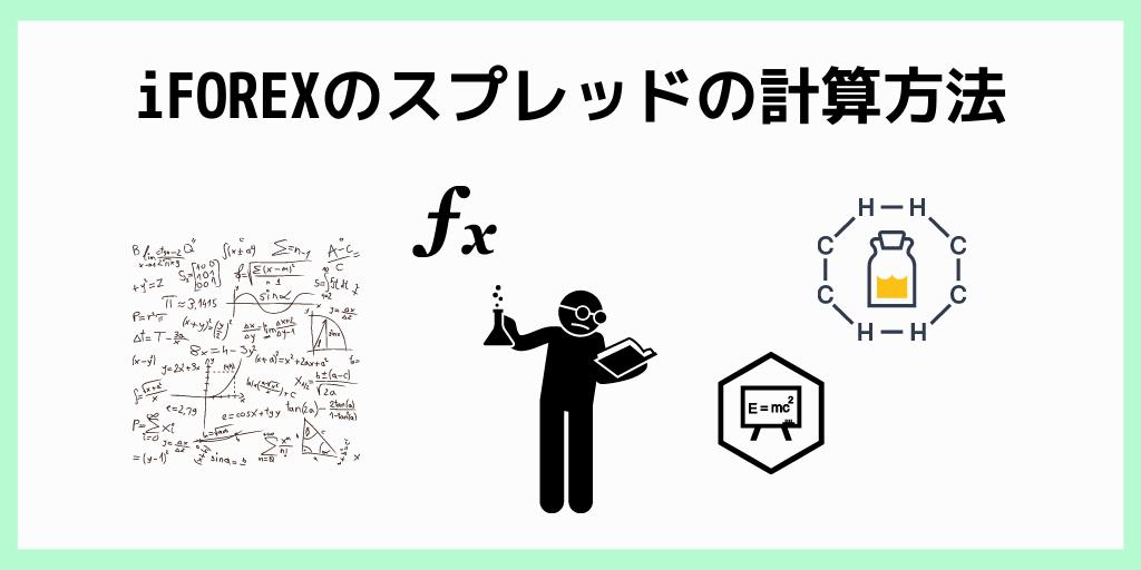 iFOREXのスプレッドの計算方法