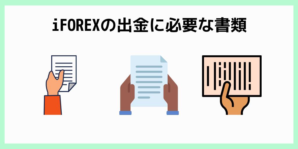 iFOREXの出金に必要な書類
