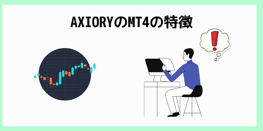 AXIORYのMT4の特徴